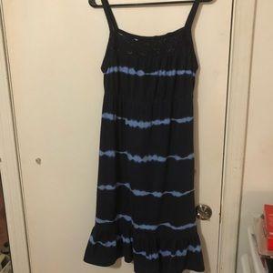 Blue sundress size S/CH (4-6)